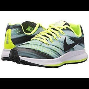 Nike Zoom Pegasus 34 Boys Anthracite volt